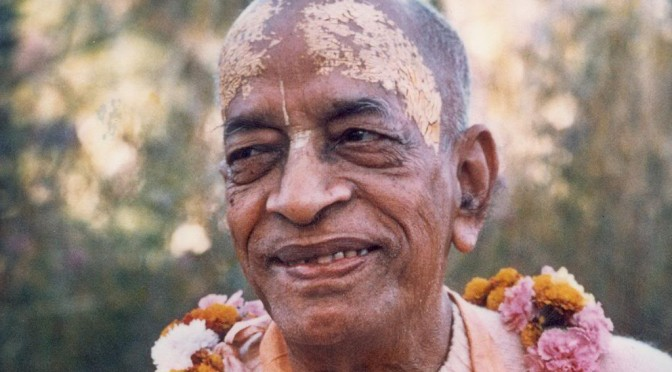 Remembering Srila Prabhupada – The Mercy of Caitanya Mahaprabhu